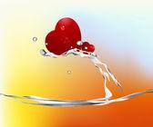 Love Illustration — Cтоковый вектор