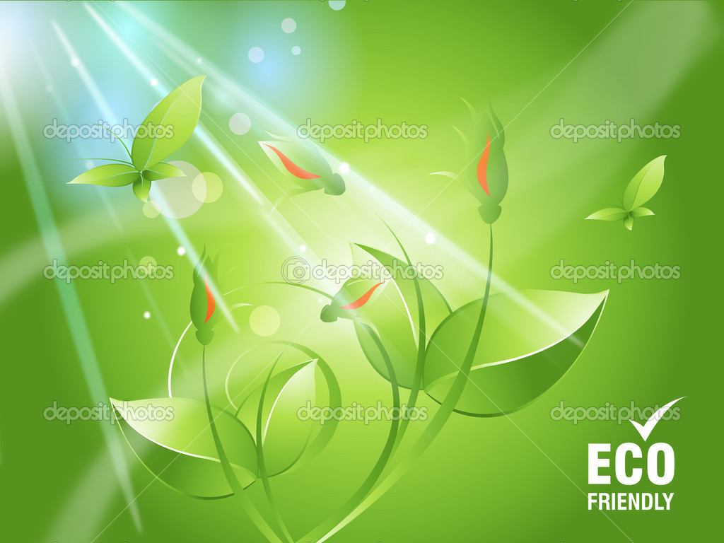 Environmental and Ecology concept  background .  Stock Vector #3884127