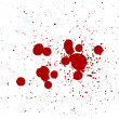 Stock Photo: Blood Splatters Drips