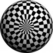 Royalty-Free Stock Photo: Patterned Sphere