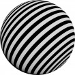 Patterned Sphere — Stock Photo