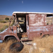 old rusty abandoned car — Stock Photo