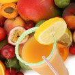 Royalty-Free Stock Photo: Tropical fruit juice