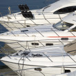 motor boats — Stock Photo