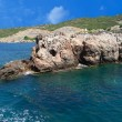Stock Photo: Rocky coast of Mediterranesea