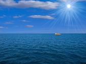Sky sun clouds water — Stock Photo