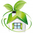 Royalty-Free Stock Imagen vectorial: Home - Bio