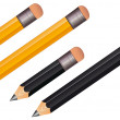 Stock Vector: Pencil