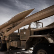 Stock Photo: Army missile launcher