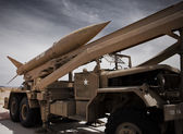 Army missile launcher — Stock Photo