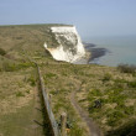White cliffs of Dover — Stock Photo #3800231