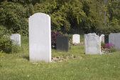 Gravestones — Stock Photo