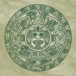 Royalty-Free Stock Photo: Stylized Aztec Calendar