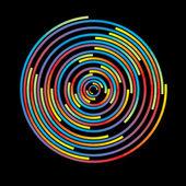 Colorful circles — Stock Vector
