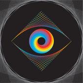 眼睛设计矢量 — 图库矢量图片