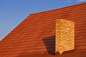 Roof from a tile — Stock Photo