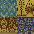 Royalty-Free Stock Photo: Thai print cloth texture