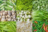 Légumes thaïs — Photo
