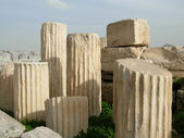 Columns remains — Stock Photo