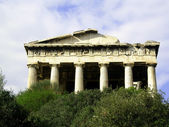 Temple Agora Athens — Stock Photo