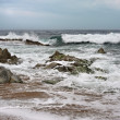 Stock Photo: Sea ​​storm