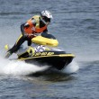 Races to aquabike — Stock Photo