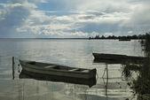 Landscape Lake Nero (Rostov) — Stock Photo