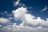 Cloudy skyes — Stock Photo