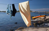 Drying Line — Stock Photo