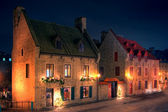 Two old houses — Stock Photo