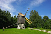 Rural windmolen — Stockfoto