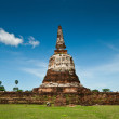 Royalty-Free Stock Photo: The pagoda at wat Maheyong, Ayutthaya