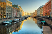 View at channel in Saint-Petersburg — Stock Photo