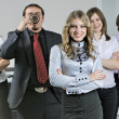 Young business team — Stock Photo #3867730