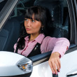 Royalty-Free Stock Photo: Pretty woman - driver