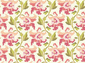 Modern flower pattern — Stock vektor