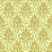 Seamless baroque wallpaper — Stock Vector