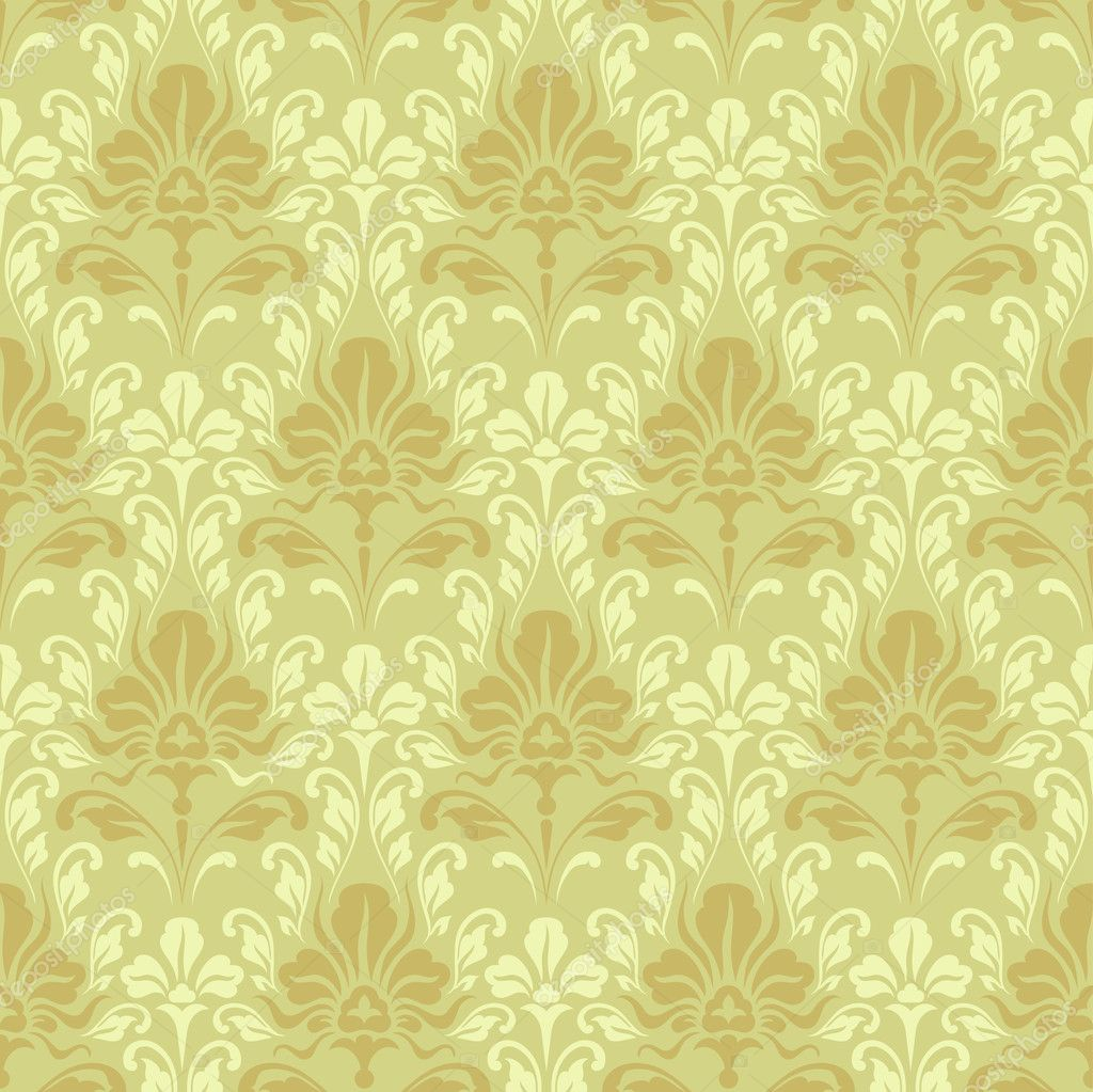 seamless baroque wallpaper stock vector ninanaina 3757968