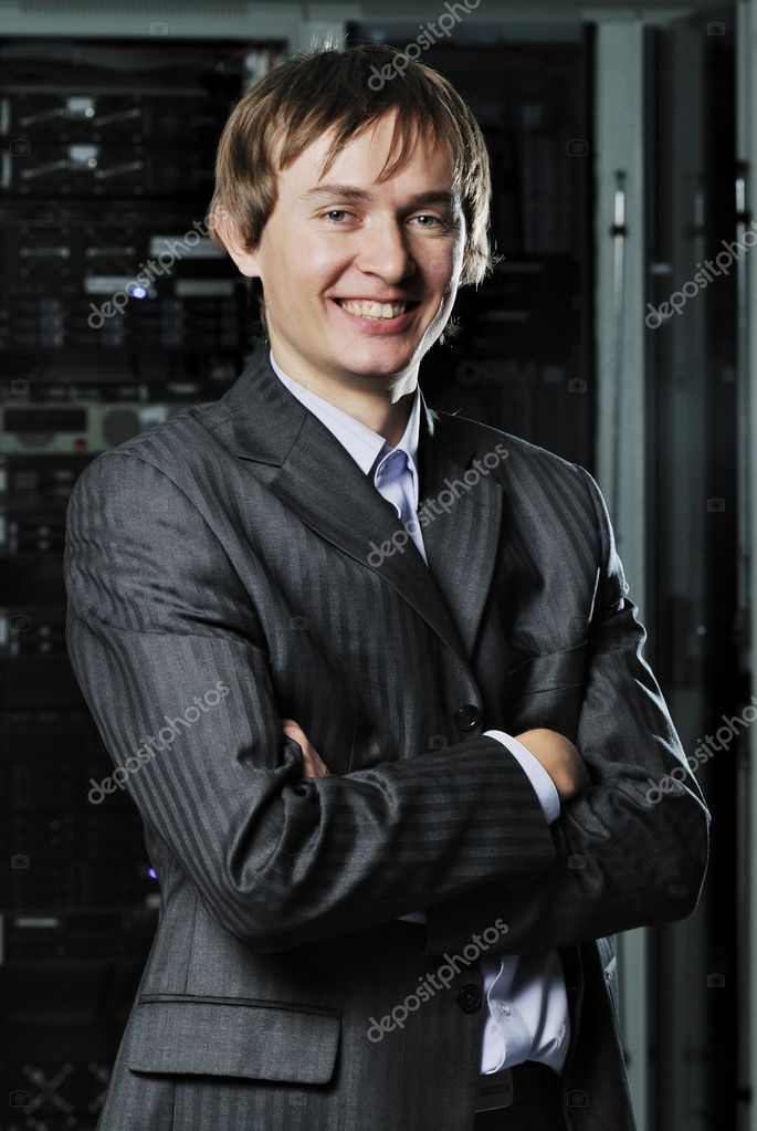 Portrait of young IT businessman — Stock Photo #3758466