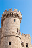 Hospitallers Castle in Rhodes — Stock Photo