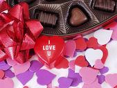 I Love U Hearts — Stock Photo
