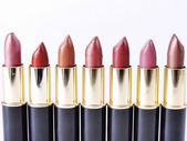 Lipstick Lineup — Stock Photo
