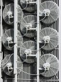 Power Station Cooling Fans — Stock Photo