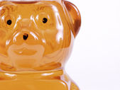 Golden Honey Bear, text — Stock Photo