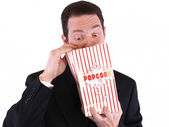 Searching for Popcorn — Stock Photo