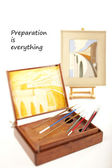 Preparation is everything — Stock Photo