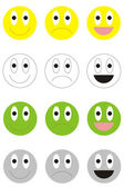 Smiles — Stock Vector