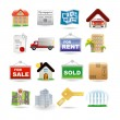 Royalty-Free Stock Imagen vectorial: Real estate