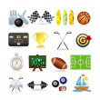 Sport icon set — Stock Vector #3891457