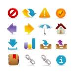 Universal icon set — Stock Vector #3891479